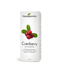 Cranberry jus concentré