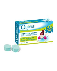 Tampons silicone enfants 3 paires