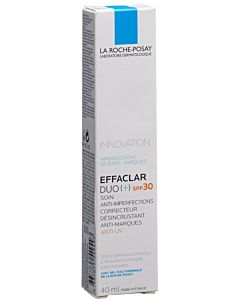 Effaclar duo+ SPF 30 - Soin anti-imperfections peau jeune avec protection solaire