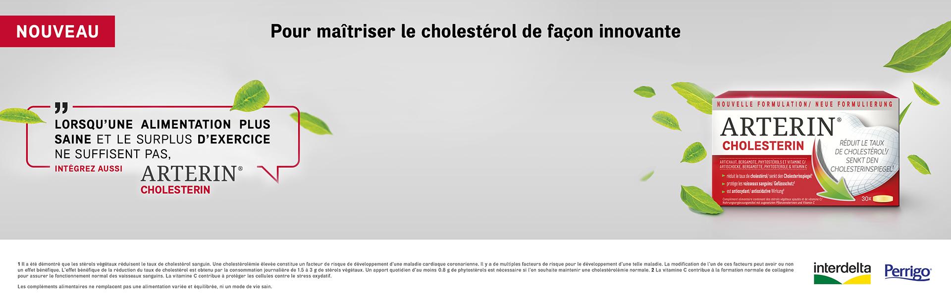 Arterin Cholestérol pas cher