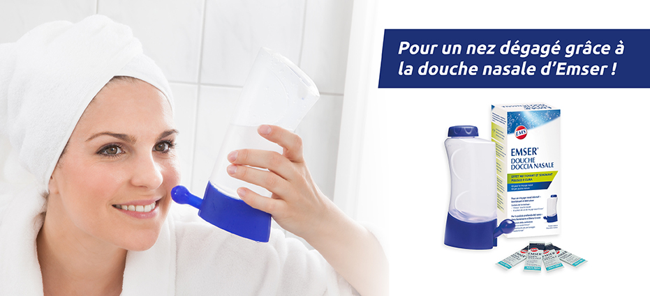 Emser® lavage nasal pas cher